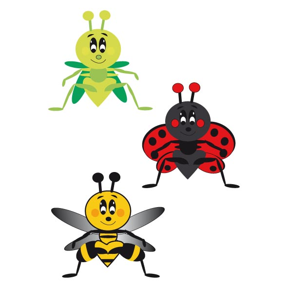 Stickers insectes